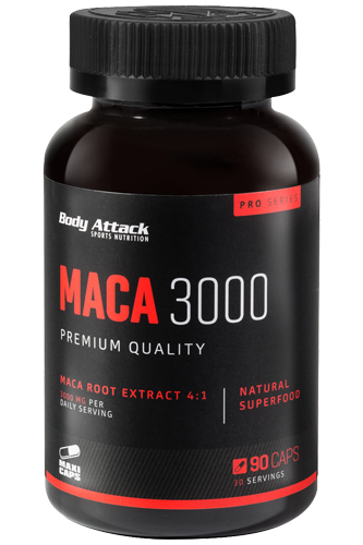 Body Attack - Maca 3000 - 90 Caps