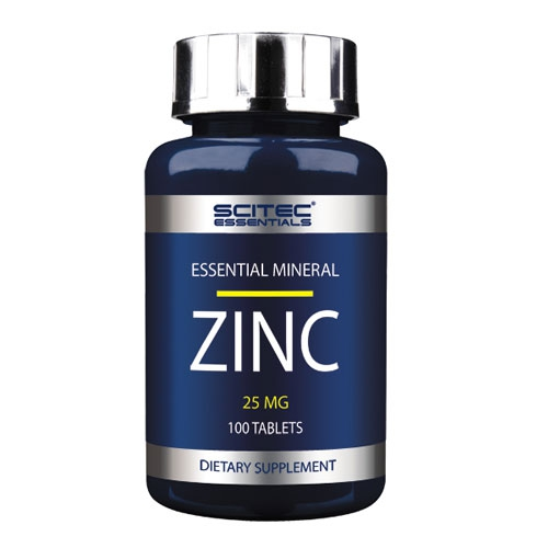 Scitec Nutrition Essentials Zinc 25mg, 100 Tabletten