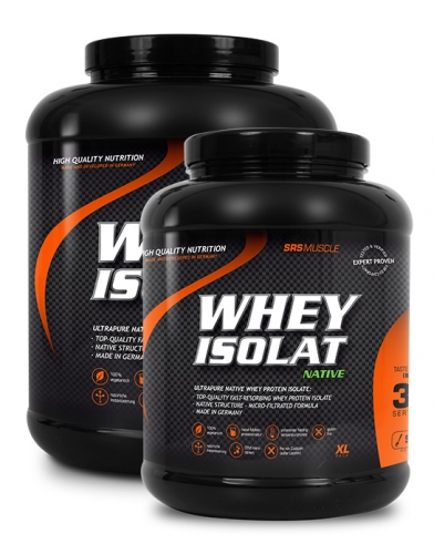 SRS Ultrapure Native Whey Protein Isolate, 900g