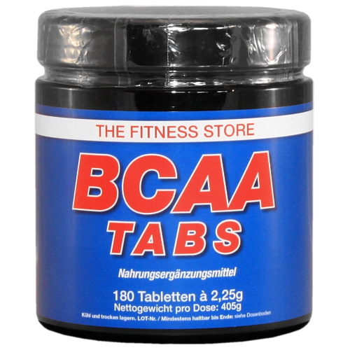 The Fitness Store BCAA Tabs, 180 Tabletten