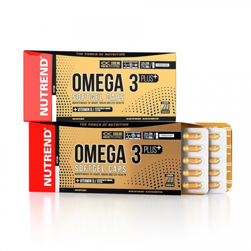 Nutrend Omega 3 Plus, 120 SoftgelCaps