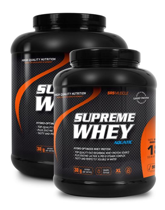 reicht whey protein für muskelaufbau