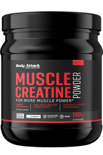 Body Attack Muscle Creatine (Creapure), 500g