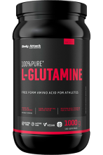 Body Attack 100% Pure L-Glutamine 1kg