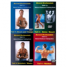 Berend Breitensein: Natural Hardcore (Training Serie 4 DVDs)