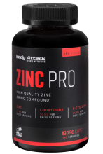 Body Attack Zinc Pro, 180 Caps