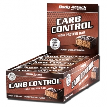 Body Attack Carb Control Riegel 100g
