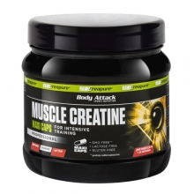 Body Attack Muscle Creatine (Creapure), 240 Kapseln
