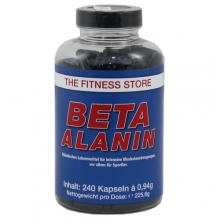 The Fitness Store Beta Alanin, 240 Kapseln