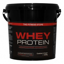 The Fitness Store Whey-Protein, 2,5kg Eimer